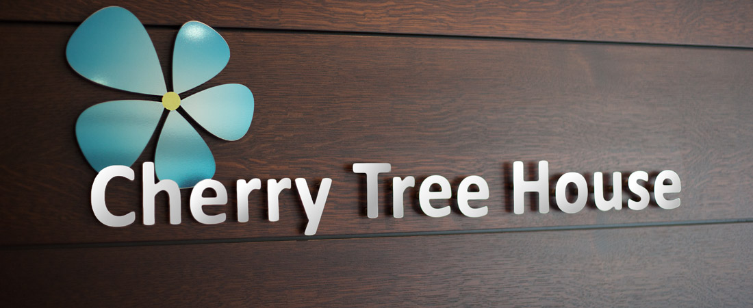 Cherry Tree House Sign