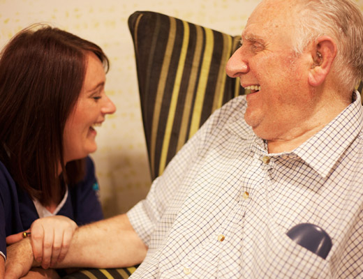 LM Healthcare Carer and male resident