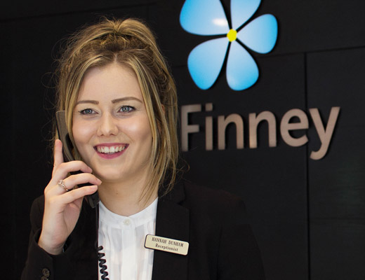 Finney House Receptionist