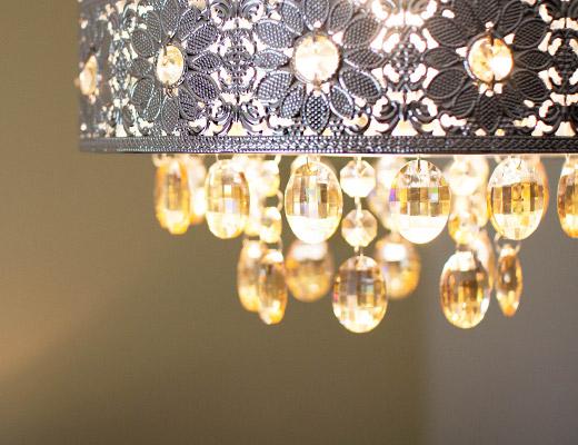 Finney House Bedroom light