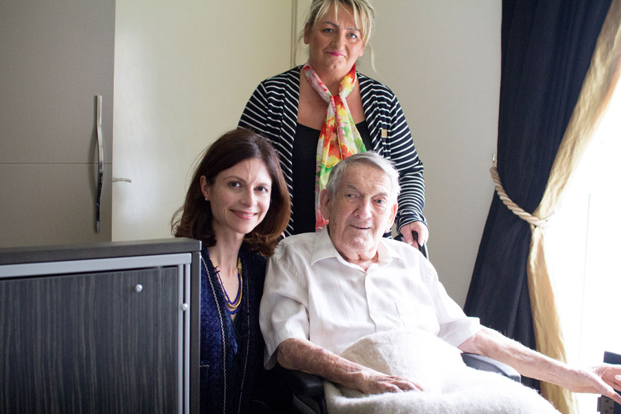 Seema Kennedy visits Finney House