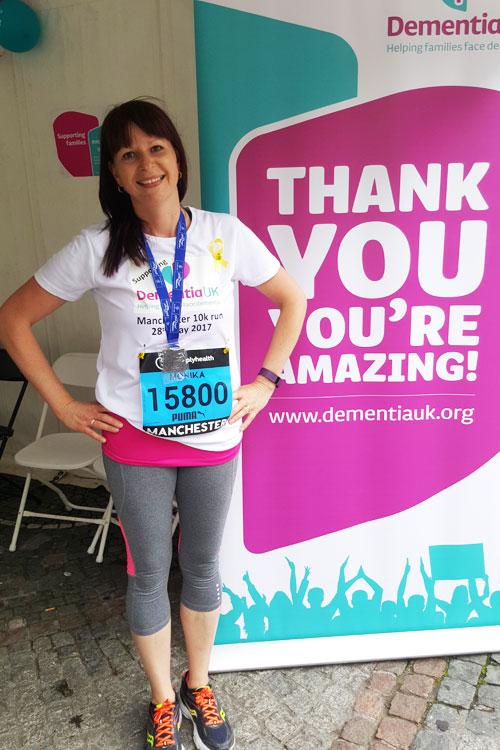 Monika Treagust 10k run