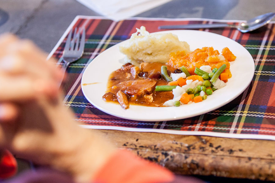 Burns Day celebrations at Finney House