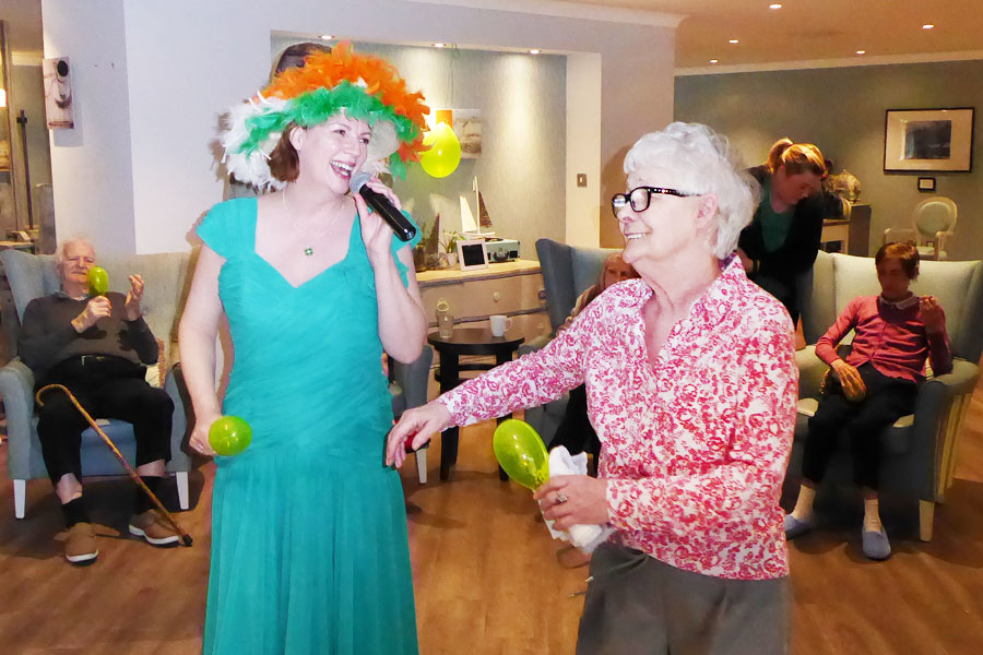 St Patricks Day at Whittle Hall