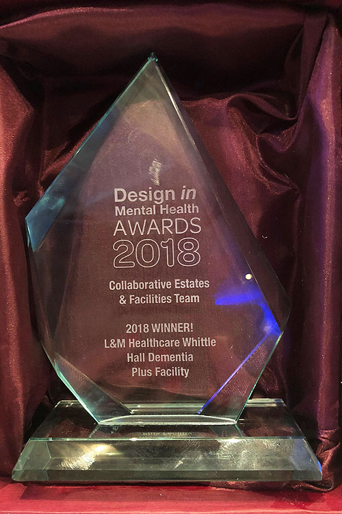 Design in mental health awards 2018