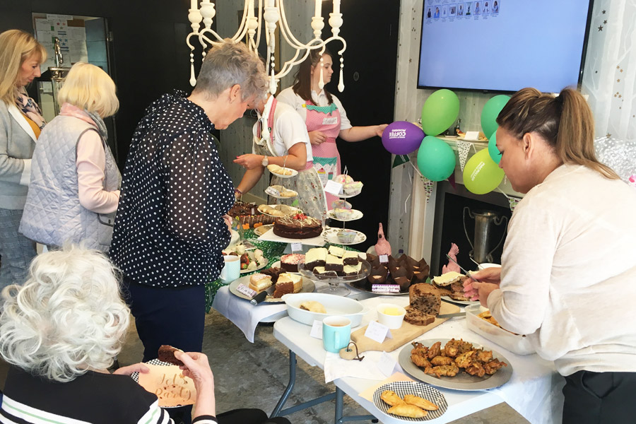Macmillan coffee morning at Finney House 2018