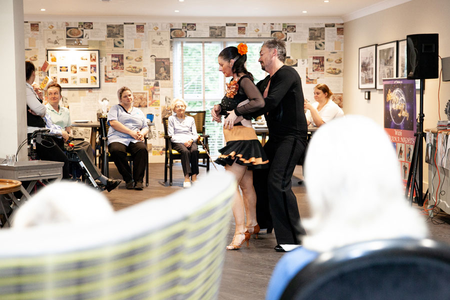 Strictly comes to Finney House