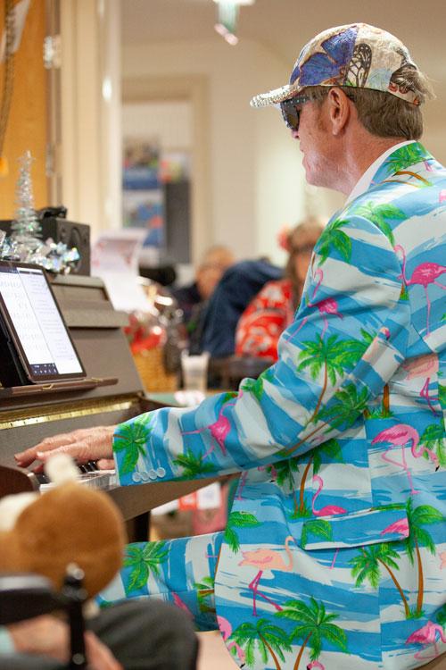 Elton John Tribute at Gainsborough House