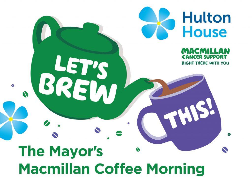 Macmillan coffee morning at Hulton House