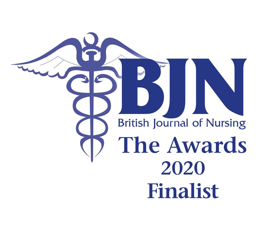 British Nursing Journal Awards 2020 - Finalist