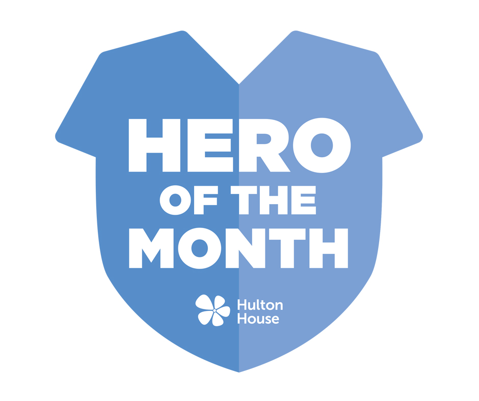 Hero of the Month logo