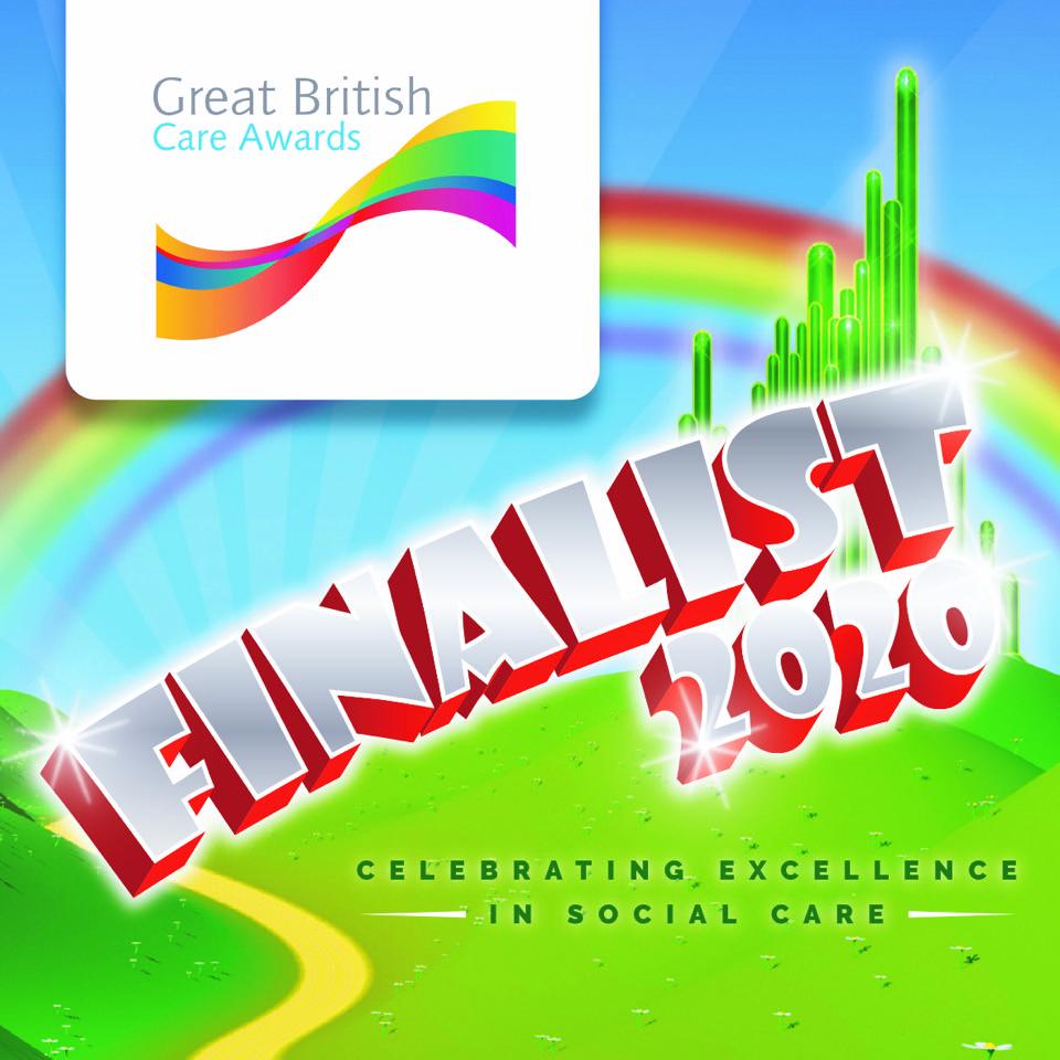 Great British Care Awards Finalist 2020