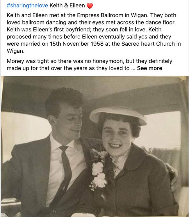 Keith & Eileen