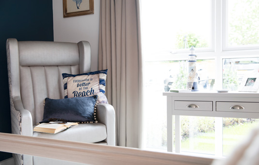 Kitwood House bedrooms